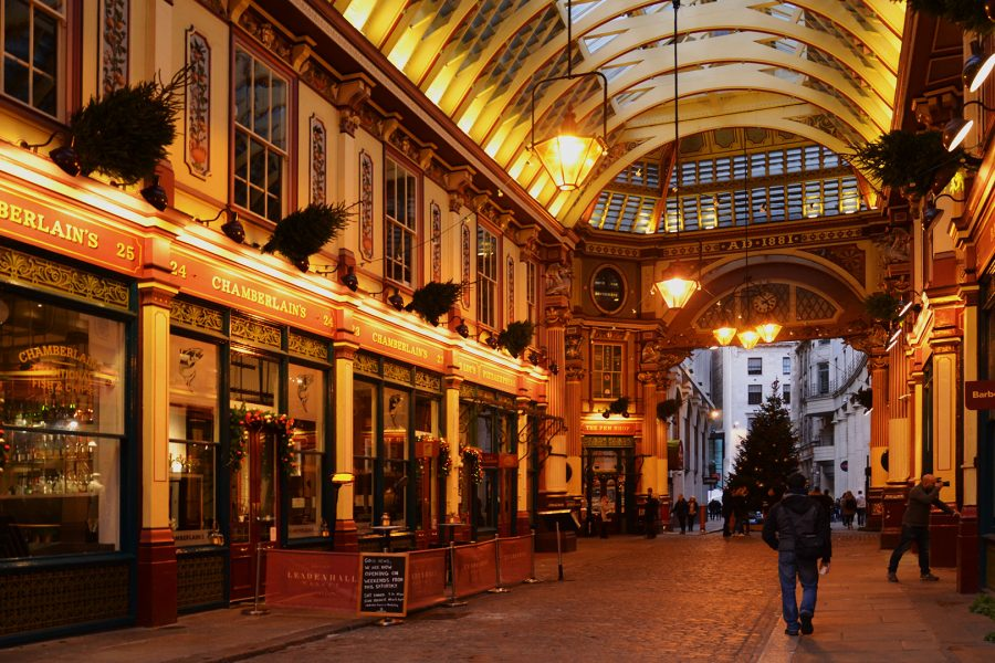 Leadenhall Market central hall