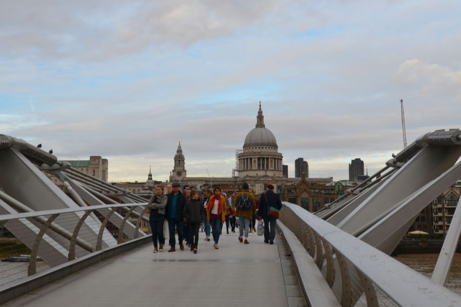 St Paul's view from the Millenium Bridge