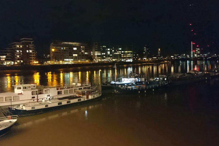 Vue depuis Albert Bridge