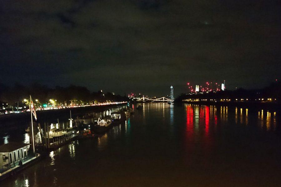 Vue sur Chelsea Bridge