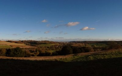 Panoramic view from West Wycombe hill