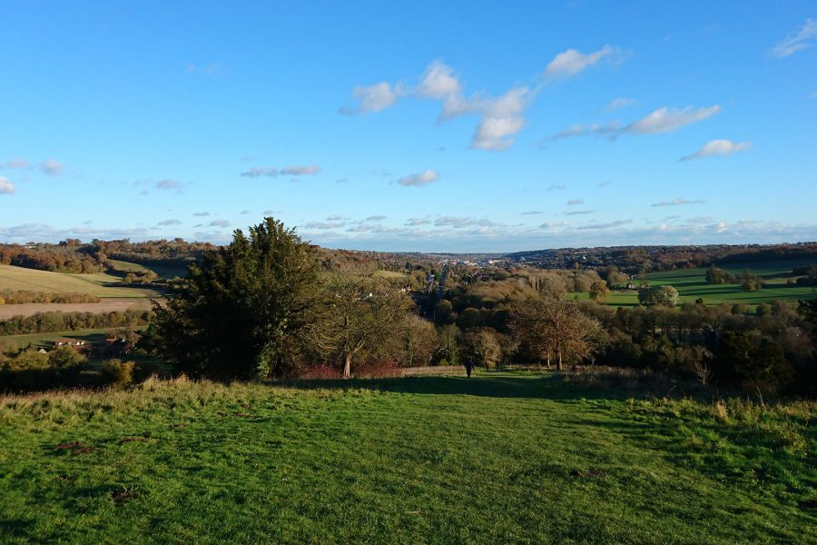 Vue towards High Wycombe