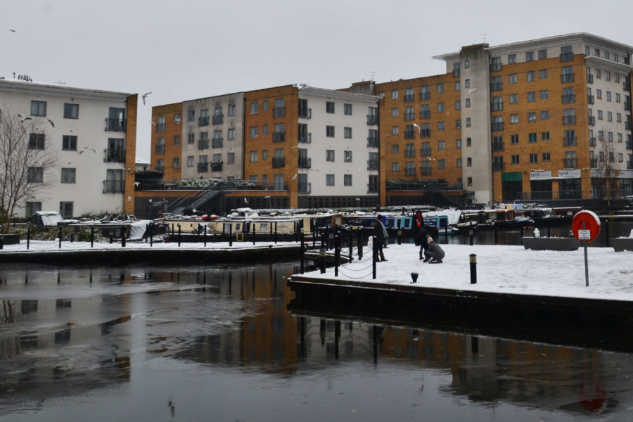 Engineer's Wharf in winter